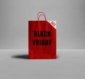 Sac de papier de Black Friday illustration libre de droits