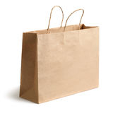 Sac de papier de Brown Photos stock