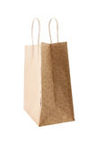 Sac de papier de Brown Photographie stock libre de droits
