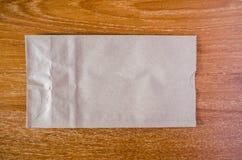 Sac de papier de Brown photos libres de droits