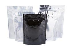 Sac de paquet d'aluminium Photo libre de droits