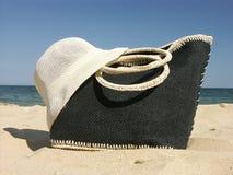 Sac de plage Photographie stock
