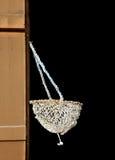Sac de ramassage tissé par main d'huître de perle Image libre de droits