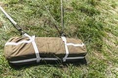 Sac de stockage d'une Division Aéroportée de parachute photos stock