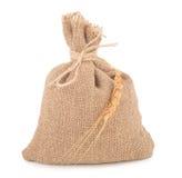 Sac de textures de blé Photos stock