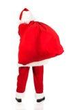 Sac de transport de Santa Claus avec des présents Image stock