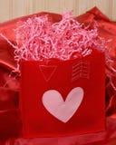 Sac de Valentine Image libre de droits