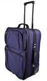 Sac de valise de bagage avec le traitement de traction Photos stock