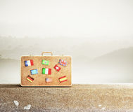 Sac de voyage Image libre de droits