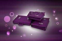 sac des affaires 3d Photographie stock libre de droits