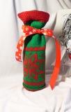 Sac des cadeaux pendant Noël et la nouvelle année Image stock