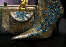 Sac et chaussures 4 Photographie stock