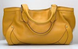 Sac jaune Image stock
