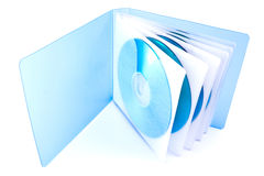 Sac pour des disques de CD et de DVD Photo stock