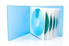 Sac pour des disques de CD et de DVD Photographie stock