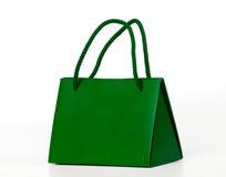 Sac à provisions vert. Images stock