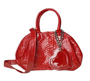 Sac rouge Image stock