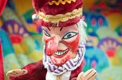 Sacador y judy, marioneta del sacador Imágenes de archivo libres de regalías