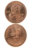 Sacagawea dollar Stock Images