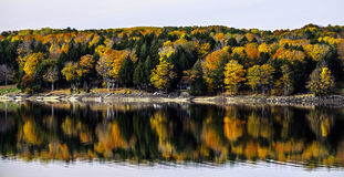 Sacandaga-Reservoir bei Batchellervile Stockfotos