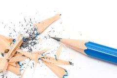 Sacapuntas de lápiz. fotografía de archivo