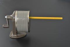 Sacapuntas de lápiz Imagen de archivo libre de regalías
