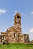 Saccargia church. View of the beautiful Abbey of Saccargia in Sardinia Royalty Free Stock Photography