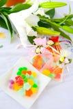 Sacchetti dei dolci e delle caramelle Fotografia Stock Libera da Diritti