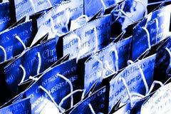 Sacchetti del regalo di natale Immagine Stock
