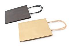 Sacchetti della spesa di carta del regalo Fotografia Stock