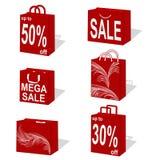 Sacchetti di acquisto illustrazione di stock