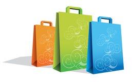 Sacchetti di acquisto illustrazione vettoriale