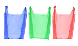 Sacchetti di acquisto di plastica Immagine Stock