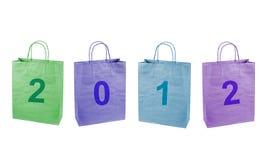 Sacchetti di acquisto multicolori. Fotografia Stock