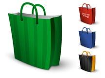 Sacchetti di acquisto RGB Fotografia Stock Libera da Diritti