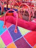 Sacchetti di colore paglierino Fotografia Stock