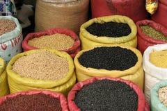 Sacchetti di granulo da vendere Fotografie Stock