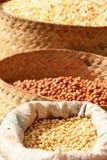 Sacchetti di granulo da vendere Fotografia Stock Libera da Diritti