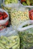Sacchetti di nylon con le verdure Immagini Stock Libere da Diritti