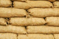 Sacchetti di sabbia Fotografie Stock Libere da Diritti