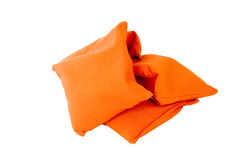 Sacchetti di sabbia arancioni Immagine Stock Libera da Diritti