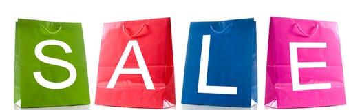 Sacchetti di vendita Fotografia Stock