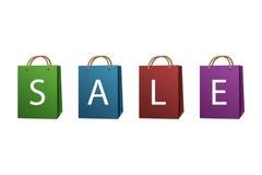 Sacchetti di vendita Immagini Stock Libere da Diritti