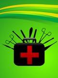 Sacchetto chirurgico Fotografia Stock Libera da Diritti