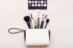 Sacchetto cosmetico fotografie stock