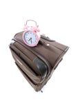 Sacchetto dei bagagli di corsa della valigia Immagine Stock