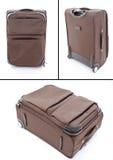 Sacchetto dei bagagli di corsa della valigia Fotografia Stock