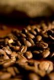 Sacchetto dei caffè-fagioli Fotografia Stock