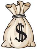 Sacchetto dei soldi illustrazione vettoriale