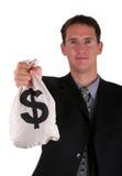 Sacchetto dei soldi Fotografie Stock
